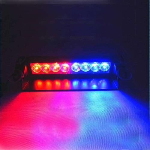 baliza led policial roja / azul