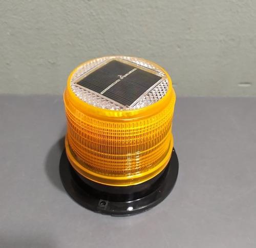 baliza luz led solar para techo kushiro sirena alarma campo