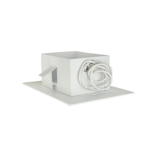 balizador branco friso embutir cx 4x2 escada parede