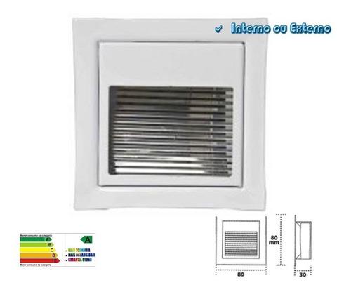 balizador led 3w embutir - interno / externo
