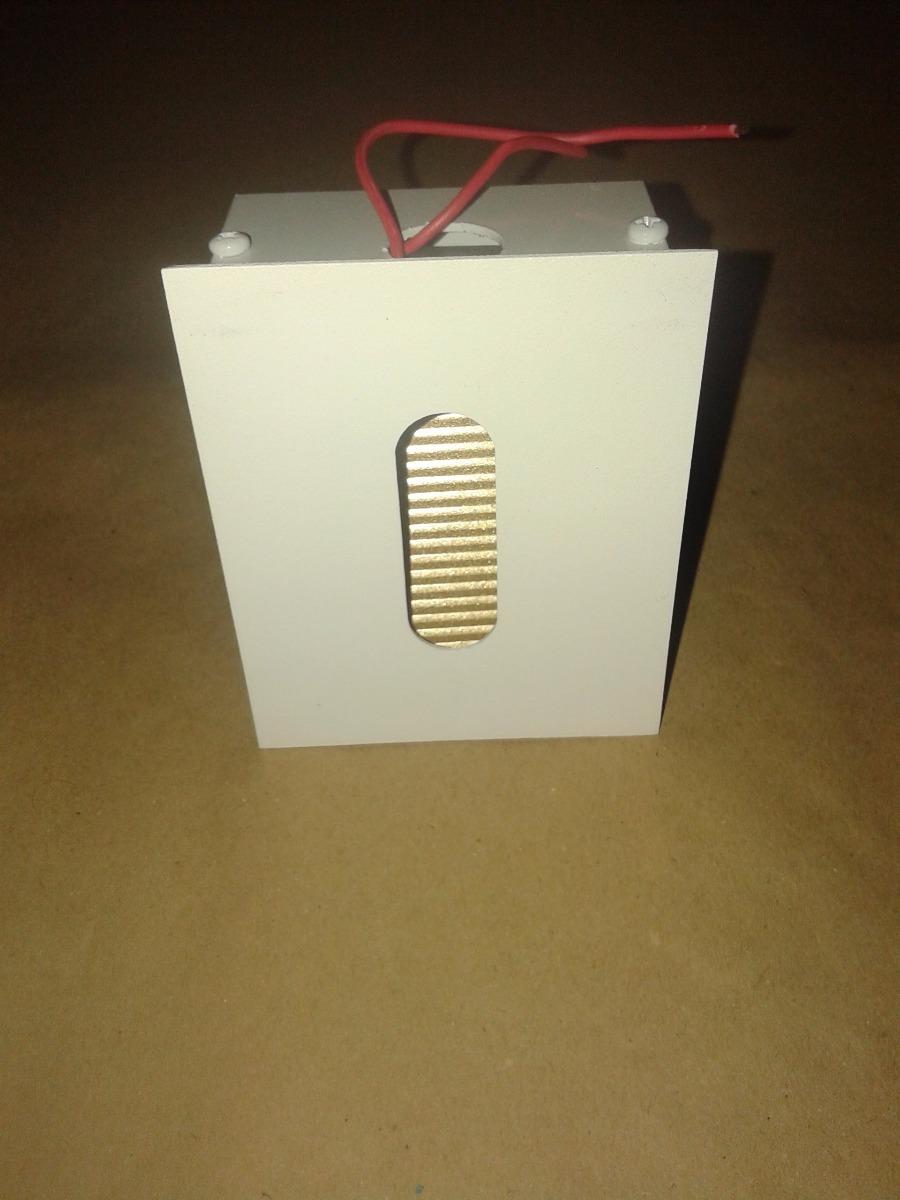 Balizador Parede Embutido 45° Led Chip Bco Hansa - R  23 34a88645ecd1c