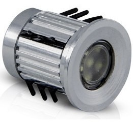 balizador solo dot spot power led 150° bivolt 1,5w bq , 4 un