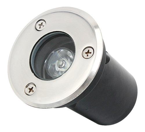 balizador spot led 1w embutir chao piso jardim ip68 externo