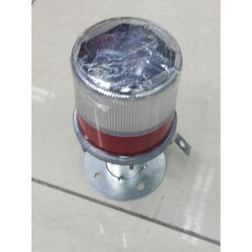 Balizaje Solar Con Luz Intermitente / Señal Roja