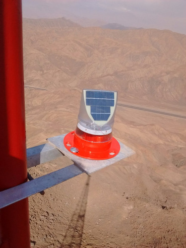 balizaje solar fanal , intermitente torres av70  avol70