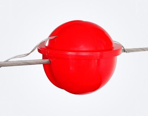 balizas  esféricas para cables de alta tensión