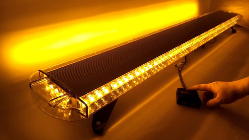 balizas led estroboscopicas 1,20mts - ambar