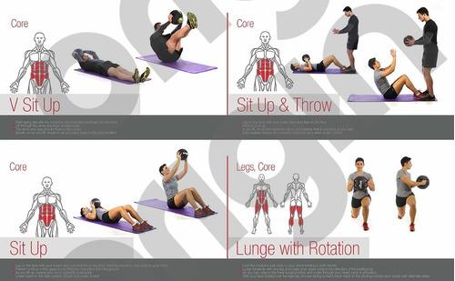 ball fitness medicine