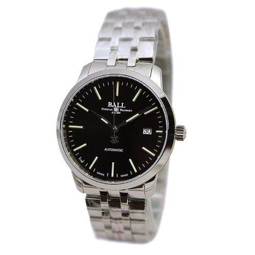 ball legend automatic reloj de acero inoxidable para hombre