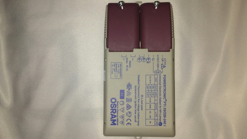 ballasto electrónico halogenuro powertronic pti 35w 220v osr