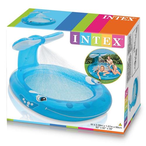 Ballena intex 57435np alberca piscina en mercado libre - Playmobil piscina ballena ...