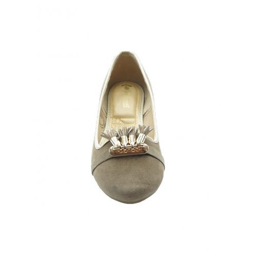 ballerina casual nobuck beige marca top moda