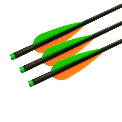 ballesta pernos híbridos carbono flechas... (12 pcs, 2.)