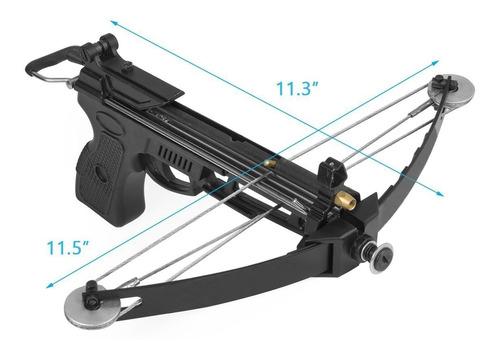 ballesta pistola de pesca nux potencia 50 lbs + accesorios