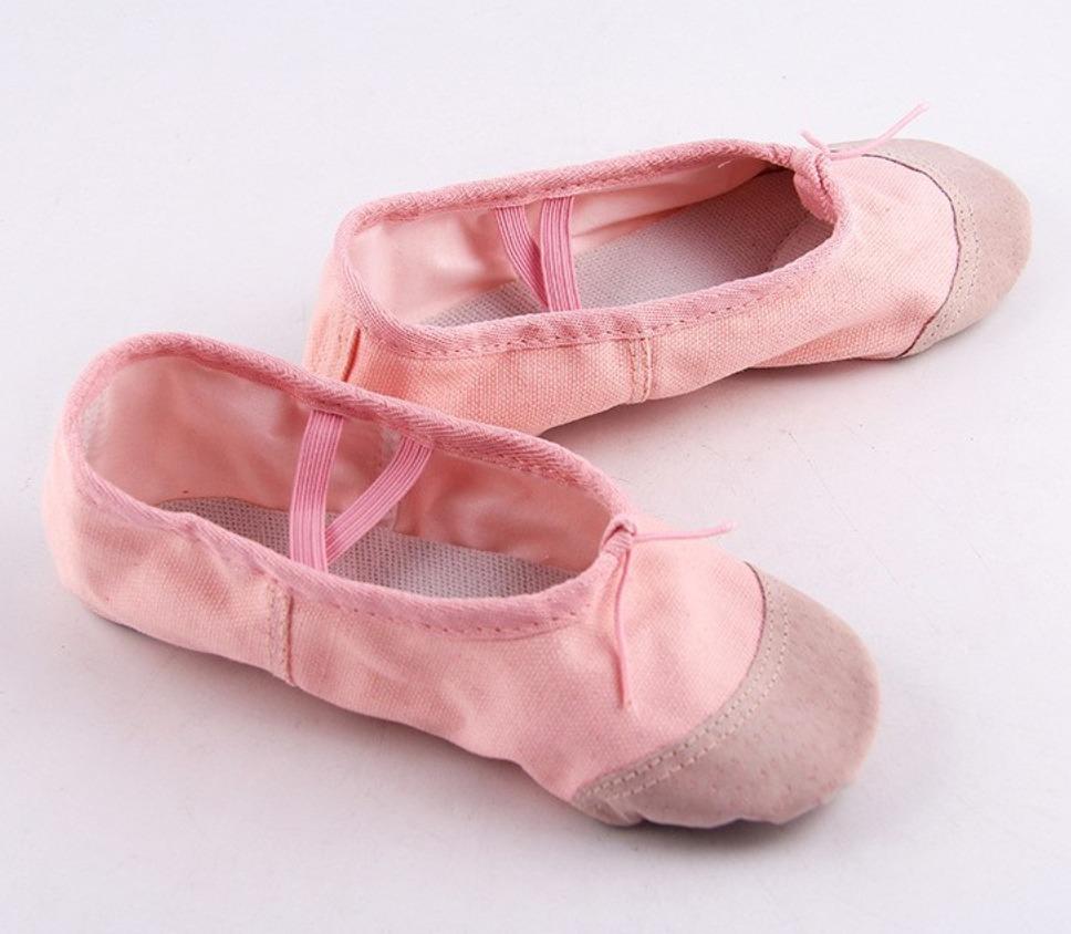 7d389ba1bf9fd Sapatilha Rosa Ballet Infantil Bale Mais Meia Calça Rosa - R$ 38,90 ...