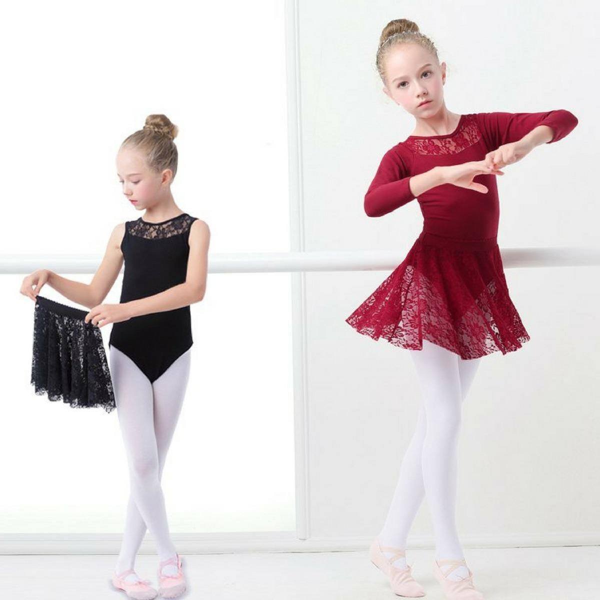 78ebb0e89 Ballet Roupa Vestido Para Aulas De Bale Infantil Balarina - R  68