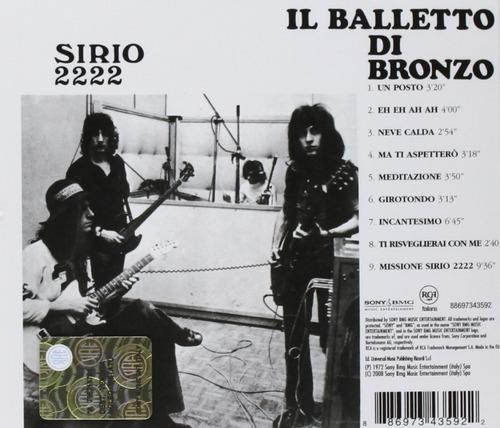 balletto di bronzo - sirio 2222 (1970)