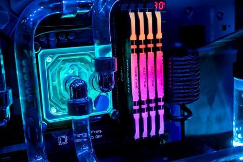 ballistix rgb 3200 mhz ddr4 kit gamer kit 16gb (8gbx2)