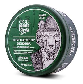balm barba fortalecedor strengthener qod 70g