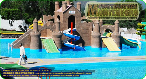 balnearios y juegos acuaticos plurinacionales