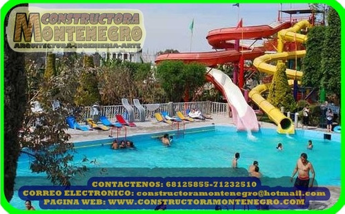 balnearios y piscinas plurinacionales