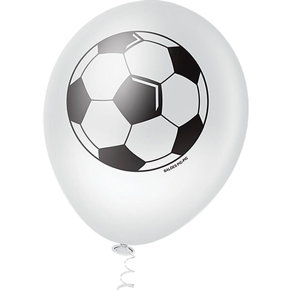 27c062484 balão bexiga bola pic pic latex nº10 futebol branco 25 un. Carregando zoom.