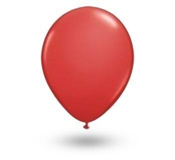 Balão Bexiga Classic N 65 Festa Vermelho Com 100 Unidades R 9