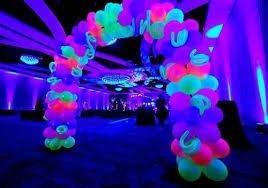balão bexiga de neon nº9 - com 50 unidades