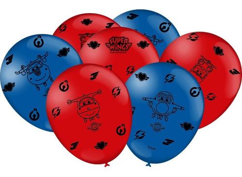 balão - bexiga super wings - 25 unidades