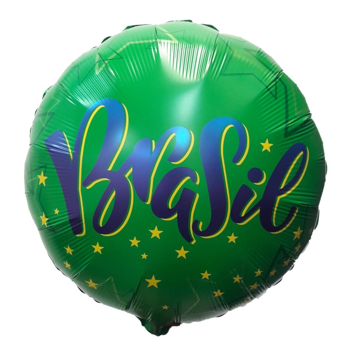 balão brazil copa do mundo metalizado qualatex. Carregando zoom. 2890a773cecbe