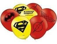 balão liga da justiça nº9 25 unidades festcolor