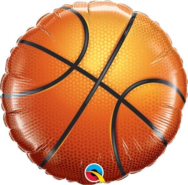 Balão Metalizado - Bola De Basquete - 18 Pol. Qualatex - R  24 7d6b364adf636