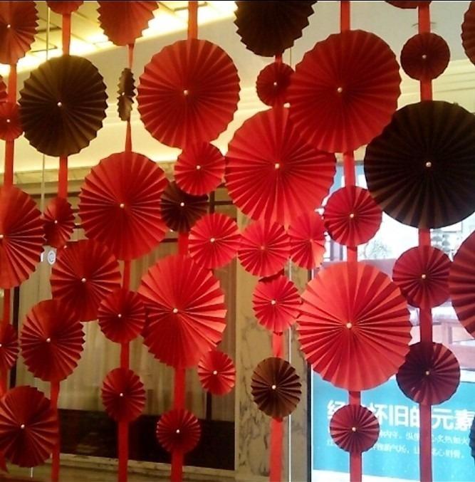 Balão Pompom Leque De Papel Seda Festa Decoração 50 Cm R 1600 Em