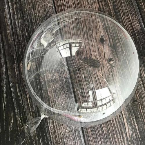 balão transparente bubble 45cm - kit 5 unidades
