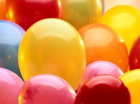 balões ballons n° 7 rosa bebe pacote com 50 bexigas