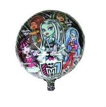 balões monster high - 2 modelos lote com 10 unidades