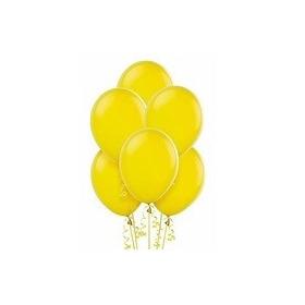 Balões São Roque N° 7 Amarelo Sol Com 50 Bexigas