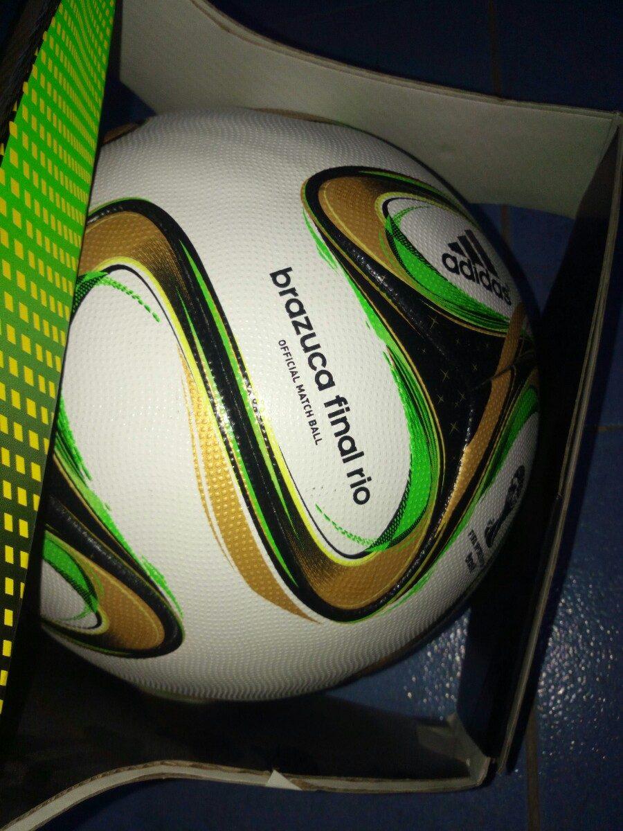 ... balon adidas brazuca final rio oficial original!! Cargando zoom. 1f5a84baee8a8