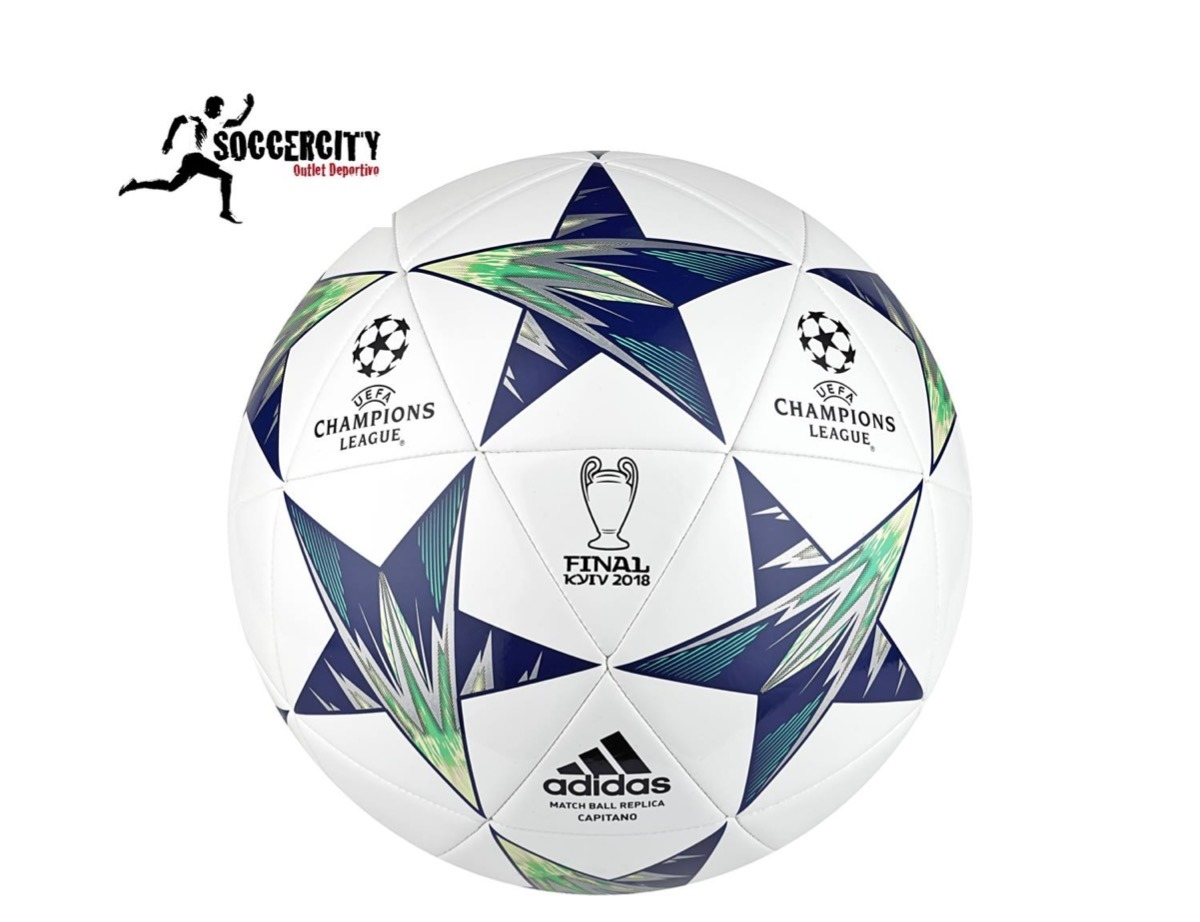 f02b8e9cf530b Balón adidas Capitano Uefa Champions Finale Kyiv 2018 -   419.00 en ...
