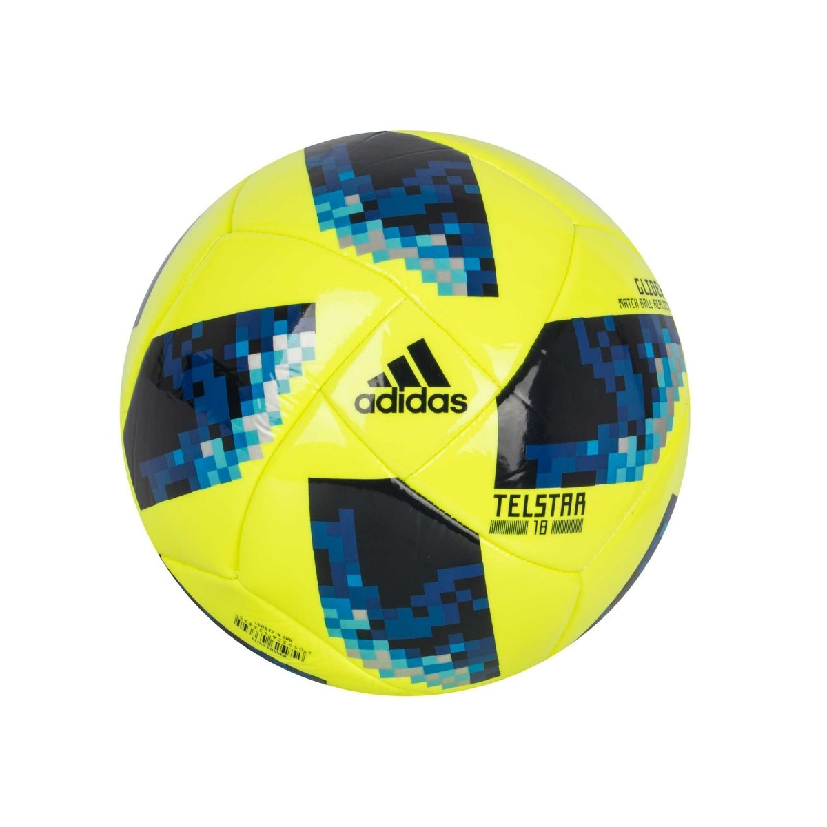 Balón adidas Del No.5 Modelo Telstar Amarillo (hegol) -   599.00 en ... a2cbf89b97128