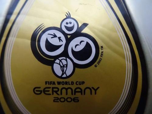 balon adidas teamgeist alemania 2006 version jfa raro