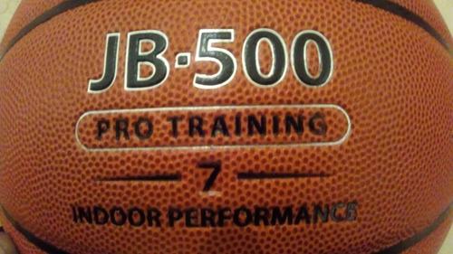 balon  basket jb 500 semi cuero piel  original remate
