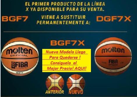 balón basquetbol molten gf7x giugiaro piel sintética 7 gf7