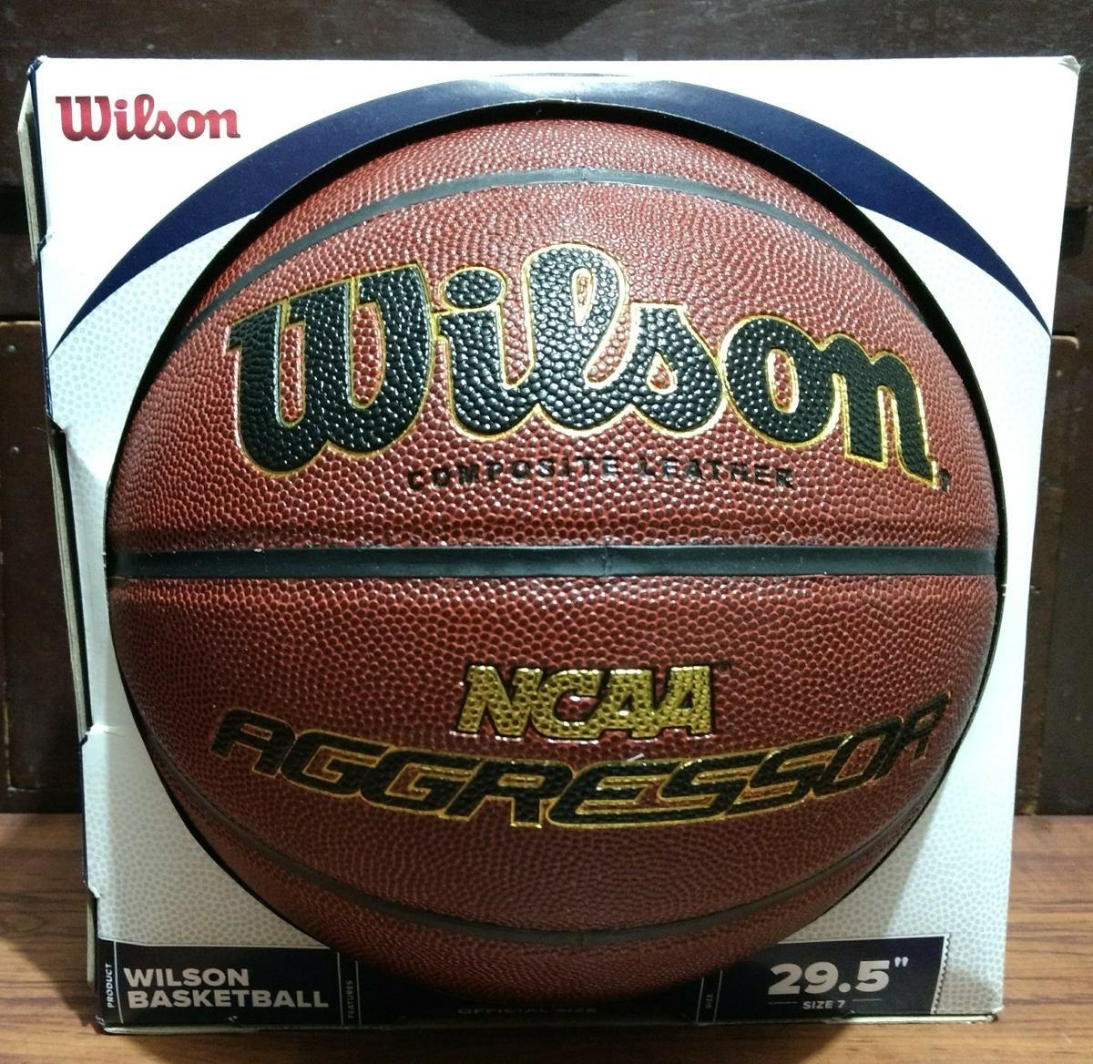 a2ffcb3e08 Balon Basquetbol Wilson Agressor #7 Ncaa - $ 400.00 en Mercado Libre