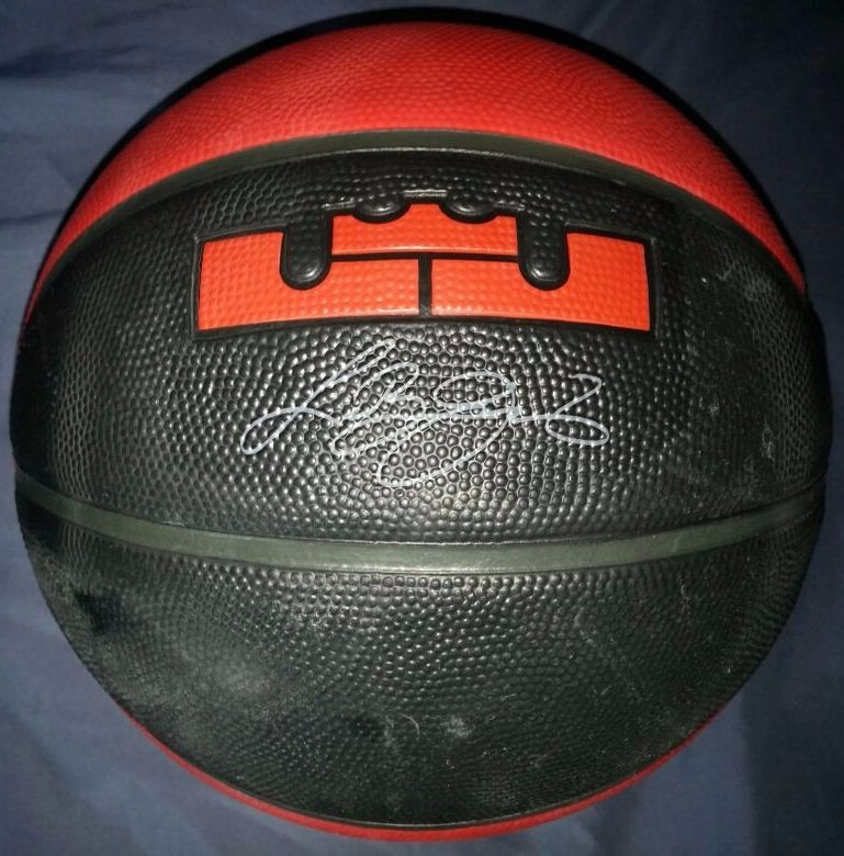 9d855646 Balon De Basket Nike Lebron James Original Nuevo Profesional - Bs. 0,49 en  Mercado Libre