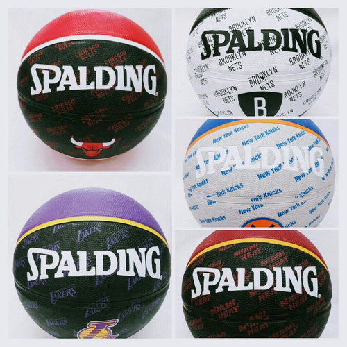 balon de basquet spalding coleccion especial equipos.... p7