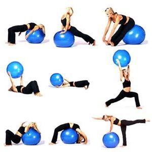 Balón De Ejercicios Pelota Pilates   Yoga Gymball - Fitball ... c7fe1abcca20