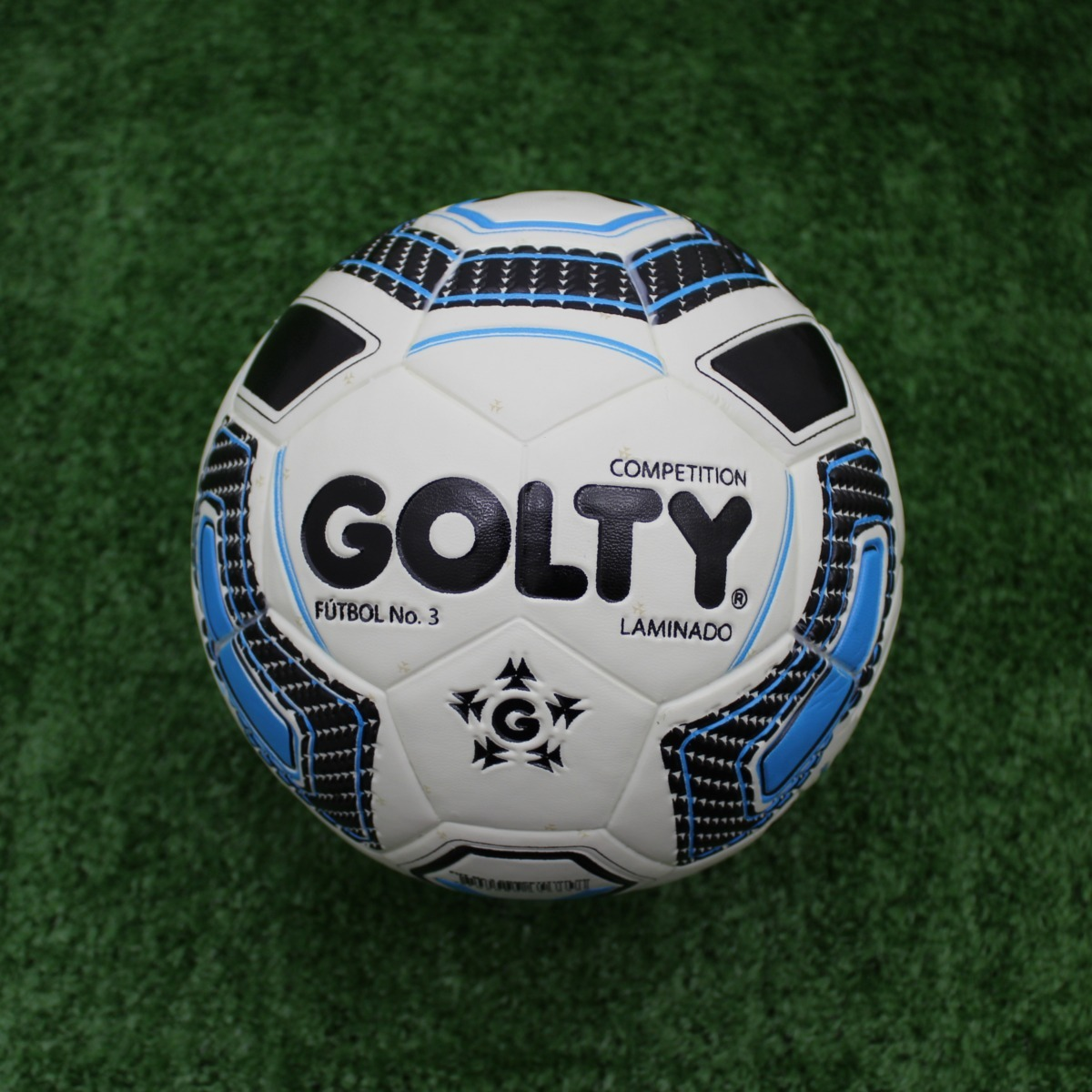 f5879c7fe32e5 Balon De Futbol  3 Competition T656858a - Azul -   70.000 en Mercado ...