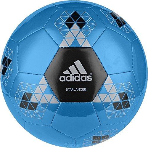 balón de fútbol adidas performance starlancer v, azul solar