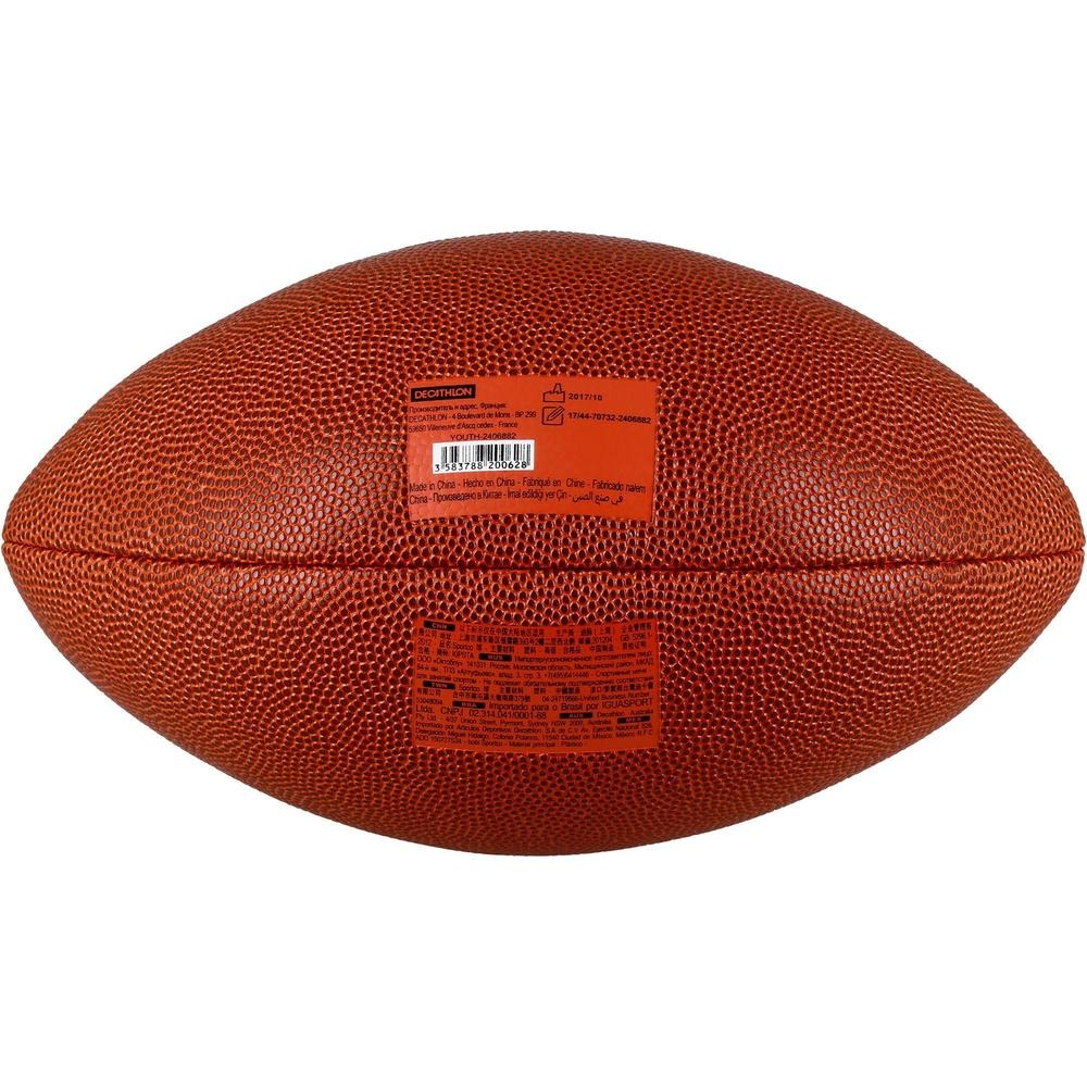 0ea633cbb3239 balón de fútbol americano af500 de talla youth marrón. Cargando zoom.